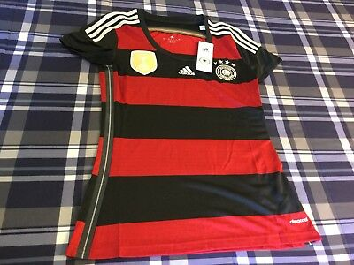 Germany Deutschland Football Soccer Adidas New W/Tags Small Size Women's Jersey