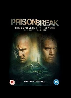 Prison Break The Complete Fifth (5th) Season/Series - DVD - Brand New & Sealed