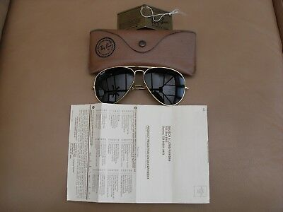 Ray Ban Gold Aviator 1980s