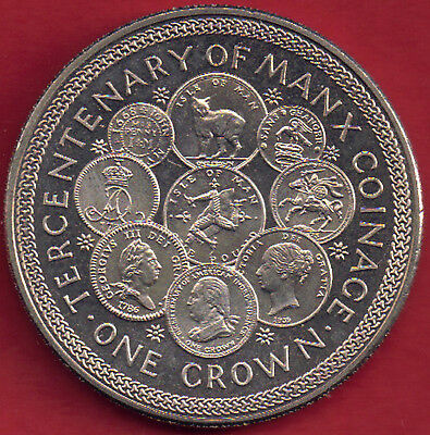 IOM Isle of Man Manx 1979  Crown Tercentenary of Manx Coinage sealed wallet