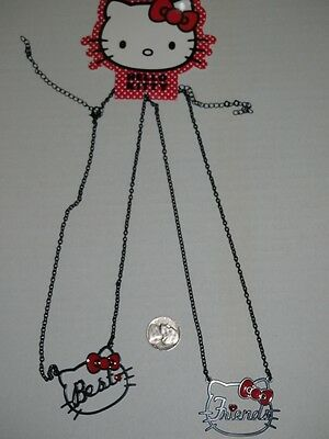 Hello Kitty Best Friends Necklace Set HOT TOPIC SANRIO NEW