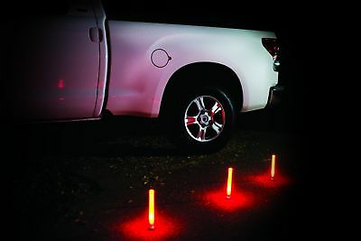 Road Flare Kit Pack of 3 LED Emergency Safety Flares Traffic Car Highway