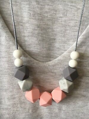Silicone Necklace for Mum Aus Jewellery Beads (was Teething) Gift Modern Fashion
