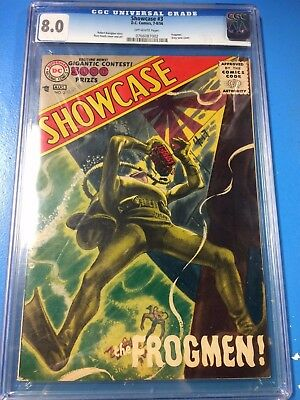 Showcase #3 1956 CGC 8.0 Off White Pages 3rd Highest Graded