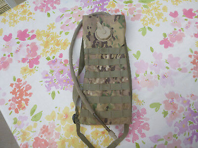 Army Military Hydration Pack Bladder Bag Molle Water Carrier Webbing Multicam
