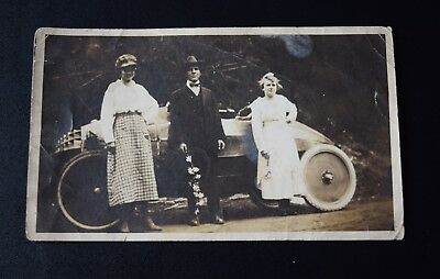 Antique *Original* Photo of Early 1900s Race Car