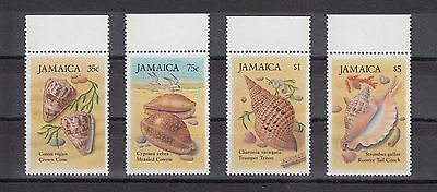 Timbre Stamp  4 Jamaique Y&t#661-64 Coquillage Shell Neuf**/mnh-Mint 1987 ~A51