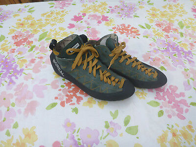 Boreal Ballet Gold Rock Climbing Boots Shoes Gear Size UK11 - Great Condition!