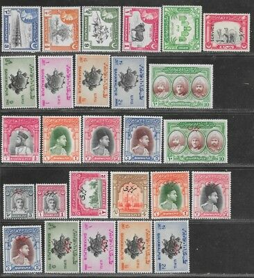 Pakistan, Bahawalpur, mint lot,  as taken from a collection.