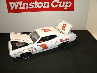 #3 Cale Yarborough 1971 Woolco Department Stores Plymouth 1/24 Rare Custom