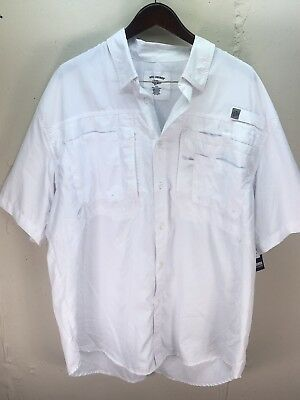 Men's Reel Legends Vented UV Protection Water Resistant Shirt Size Xxl
