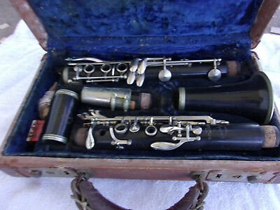 CLARINET  LeBlanc Vintage Old Normandy Reso Tone Barn Find Looks Decent