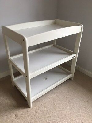 Mamas & Papas Aruba Changer / Changing Table Unit - White - Good Condition