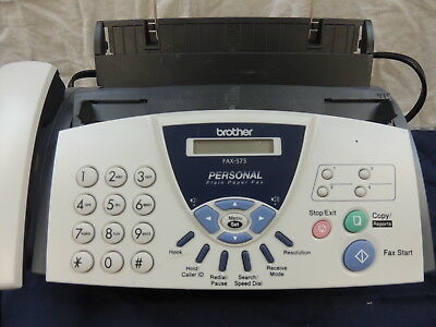 Brother Fax-575 Personal Plain Paper Fax,Phone & Copier
