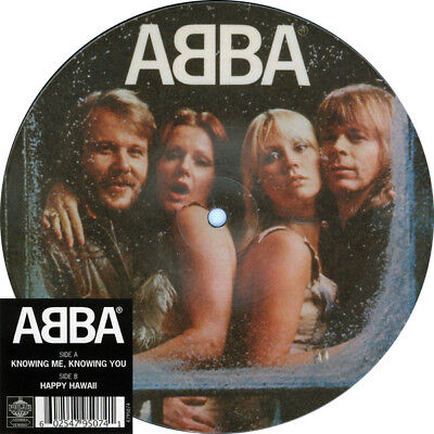 """NEU 7"""" Vinyl PICTURE Single ABBA KNOWING ME KNOWING YOU 40th ANNIVERSARY LIMITED"""