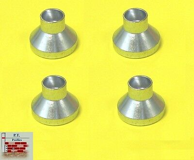 4 ANVILS ONLY for Setting Screws to suit PT & Faithfull Building Profiles