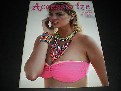 Accessorize Spring/Summer 2013 catalof KATE UPTON