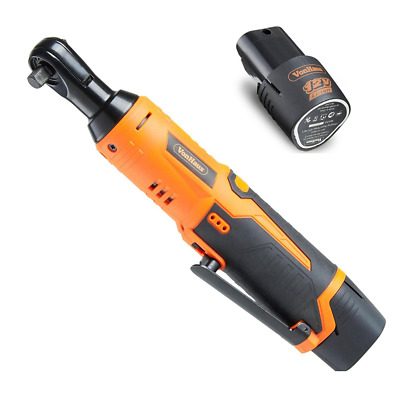 Cordless Electric Ratchet Wrench Set 12V Lithium Ion Battery Power Hand Tools