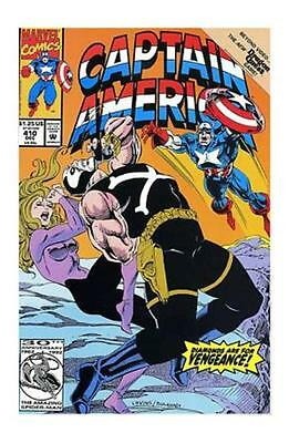 Captain America #410 (Dec 1992, Marvel) FN/VF