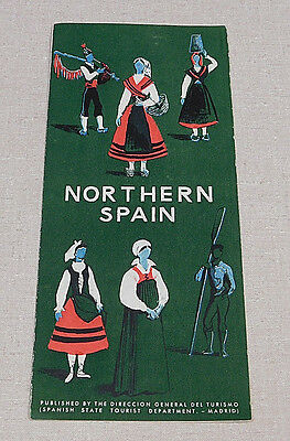 1950's Northern Spain tourist pamphlet