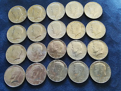 One Roll Of Bu 1964 D Silver Kennedy Half Dollars $10 Face Value In Tubes 50 C