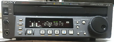 Sony J-3 901 Betacam Sp / Sx / Imx / Digibeta Switchable Ntsc/pal Only 37 Hours!