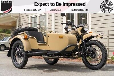 2017 Ural Gear Up 2WD Sahara Custom  Brand New Reverse Gear Parking Brake 2WD Brembo Financing & Trades