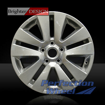 Full Face Sparkle Silver OEM Factory Wheel for 2015 Subaru Legacy - 17x7