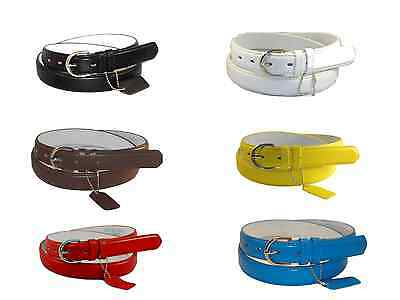 WOMEN/LADIES Skinny Leather Belt PLUS SIZE / 2XL / XXL / 13 COLORS in Stock