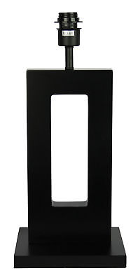 NEW Habitat Dark Stained Table Lamp Base Only