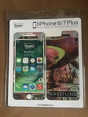 Rare Baselworld 2017 Breitling Gizmobies iPhone 6/7 Plus Thick Skin! New!