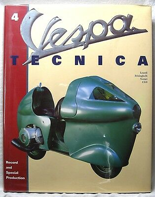 Vespa Tecnica 4 Record and Special Production, 2001 Scooters