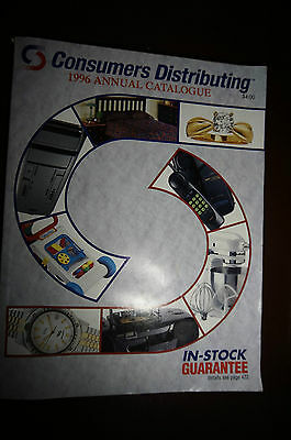 Consumers Distributing 1996 catalog color toy reference Canadian vtg 90's
