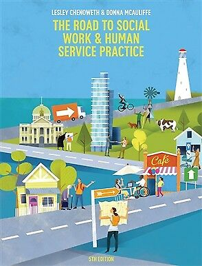 The Road to Social Work and Human Service Practice - With 12 Months Students Acc