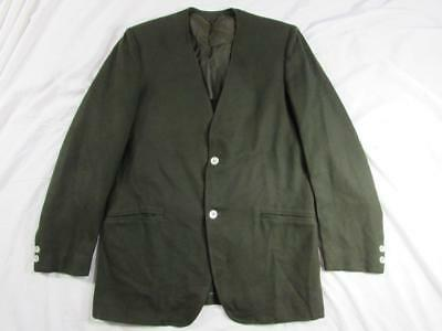 Vtg 50s 60s Hollywood Nehru Style Blazer Sport Coat Jacket VLV Wool 1950s Mod