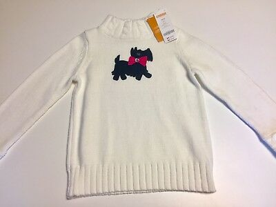 Gymboree Cherry All The Way Holiday Sweater Size 5–6 5 6 Small Nwt