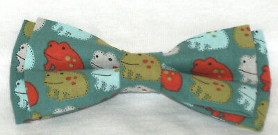 FROGS Boys' SUPER COOL BOW TIE ~o~FREE SHIPPING~o~ MADE in the USA
