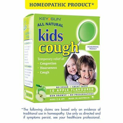 All Natural Kids Cough Apple - Relief sore throats, wheezing and cough