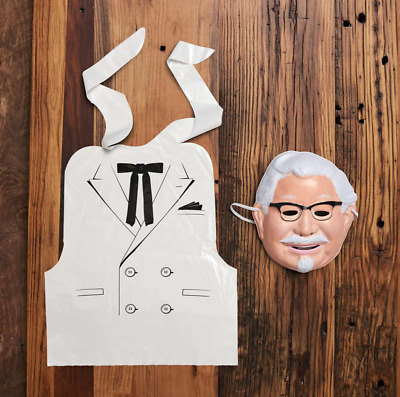 COLONEL HARLAND SANDERS KFC Limited Officially licensed Costume NEW SOLD OUT $$$