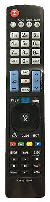 New USBRMT Remote AKB73615315 AKB73615316 AKB73655806 For LG Smart 3D TV 55LE730