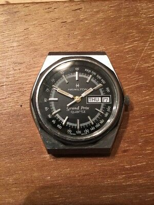 Vintage Hamilton Grand Prix Quartz Watch