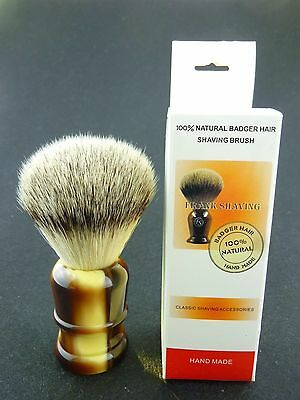 Brand New 100% Synthetic hair shaving brush,knot size 23mm