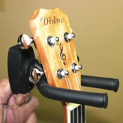 Guitar Wall Hanger Hook Holder Stand Rack Mount Display Violin Ukulele Banjo New