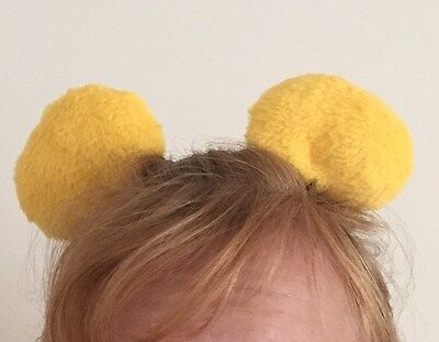 Bear Clip-on Ears Inspired by Winnie the Pooh, Costume, Halloween, Cosplay