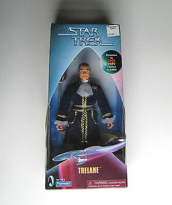 "Star Trek Trelane 9"" Action figure Playmates 1999 Exclusive KB toys Limited"
