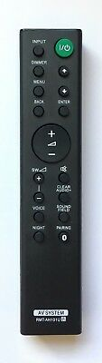 New USBRMT Remote Control RMT-AH101U for Sony Soundbar HT-CT380 HT-CT381