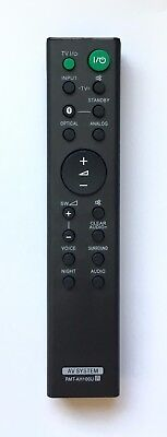 US New Sony Replaced Remote RMT-AH100U for Sony Home Audio System HT-CT180 / 780