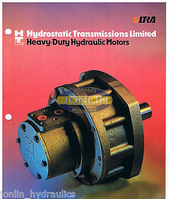 HTL MHA350-BA-001 RADIAL PISTON MOTOR WITH ROTATING CASE 45KW 1050Nm 300 RPM