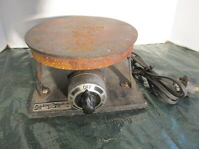 Vintage Acme Electric Industrial Hot Plate Laboratory Warmer LQQK!