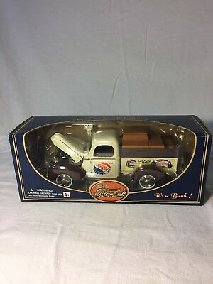 Pepsi Cola 1940 Ford Pickup Truck Bank